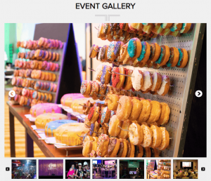 event landing page photo example