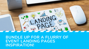 Best landing page example for events