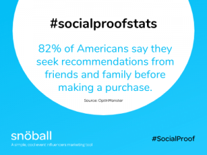 Social Proof Stats - family and friends